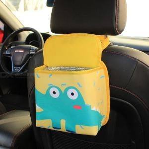 Car Organizer Car Storage Cartoon Hanging Box Universal Bags For Auto Accessories Holder Hanging In Car