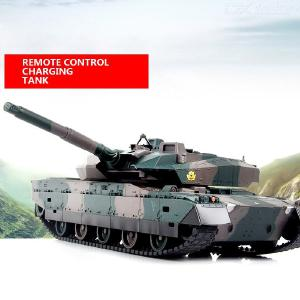 Tong Li Remote Control Tank Large Charge Battle Tank Toy Remote Control Car Car Tank Model Boy Toy