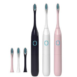 Travel Portable Adult Electric Toothbrush Battery Section Oral Care Ultrasonic Vibration Cleaning Brushing Teeth