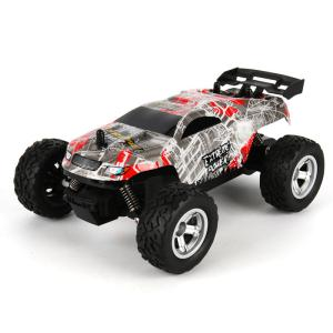 Hendy K24-2 Four-wheel Drive Remote Control Off-road Vehicle 124 High-speed Drift Big Foot Off-road Vehicle Model Toy