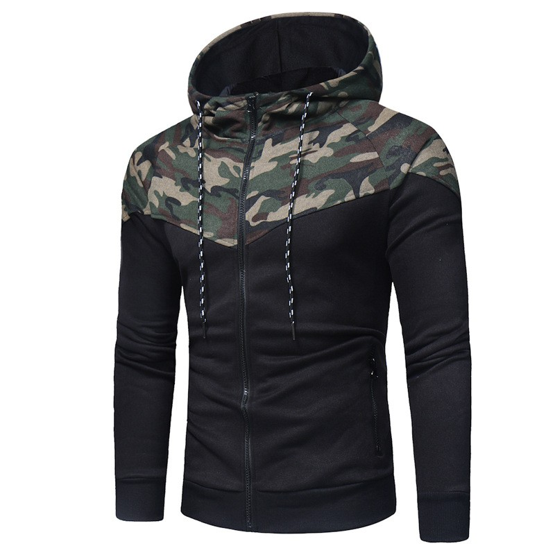 Jackets Men 2019 Casual Coats Mens Coat Jacket Outwear Sweater Spring Slim Coat Hoodie Warm Hooded Sweatshirt Drop Shipp