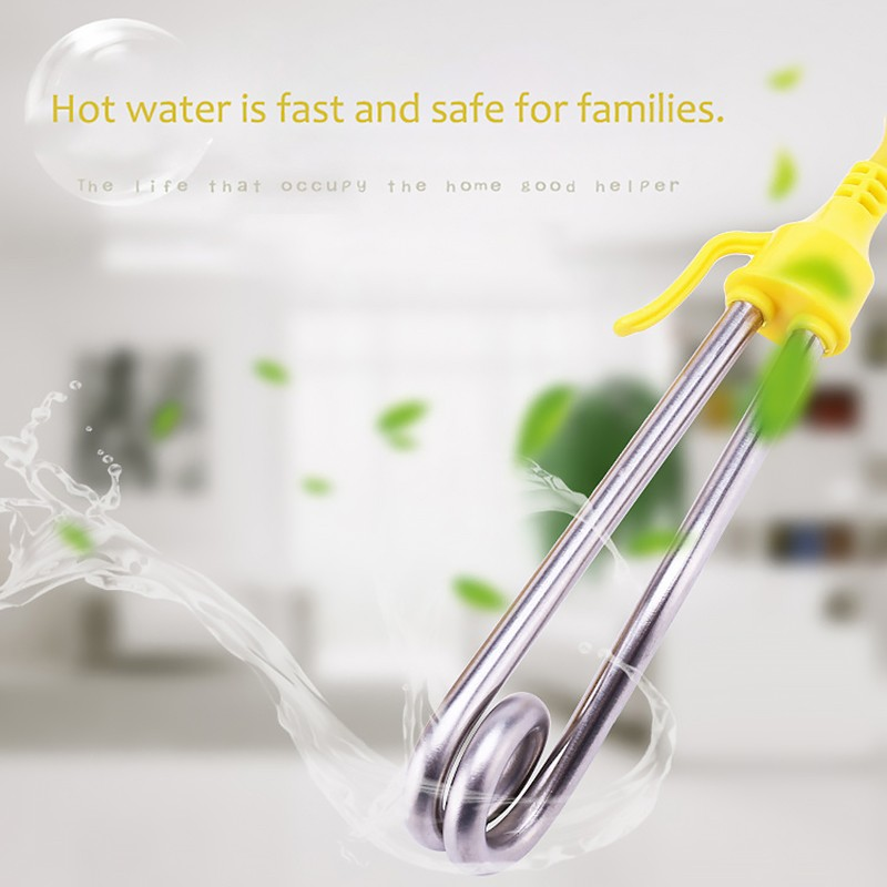 Hot Fast Water Boiler Stainless Steel Hot Fast Student Dormitory Water Heater Electric Hot Rod Bath Fast Heating Rod