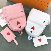 Fashion-Canvas-Printed-Heart-Yellow-Backpack-Korean-Style-Students-Casual-Travel-Bag-Girls-School-Bag-Laptop-Backpack