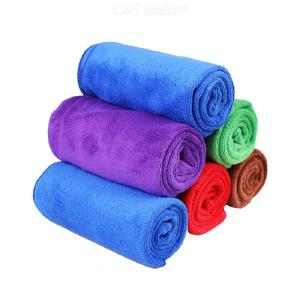 Auto Accessories Car Wash Towel Thickening Plush Microfiber Towel Super Absorbent Car Towel Car Cleaning Supplies 3070c