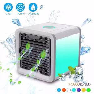 Portable Mini Air Conditioner Fan Personal Space Cooler The Quick Easy Way To Cool Any Space Home Office Desk