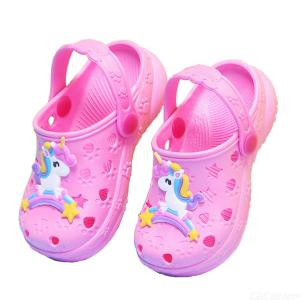 Kids Beach Sandals Slippers Flip Shoes Kawaii Sandals Baby Boys Girls Water Shoes