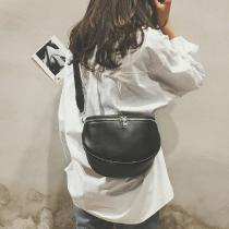 Leather-Crossbody-Bags-For-Women-New-Shell-Messenger-Shoulder-Bag-Fashion-Street-Retro-Phone-Coin-Bust-Bag-Solid-Color