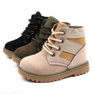 Childrens Durable Work Boots Premium Cowboy Shoes For Boys Girls