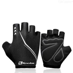 Cycle Gloves Mountain Road Bike Gloves Half Finger Bicycle Gloves With Anti Slip Shockproof Palm For Men Women