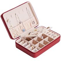 Premium Jewelry Organizer Large Capacity Travel Jewel Storage Case For Rings Earrings Necklace