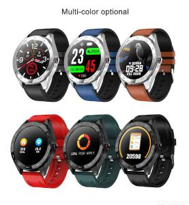 Q30 Round Color Screen Smart Bracelet Heart Rate Blood Pressure Monitor Fitness Tracker Intelligent Sports Wristband