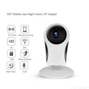 Portable HD 720P Smart WiFi IP Security Surveillance Camera Webcam Baby Monitor With IR Night Vision, Two-Way Audio Function