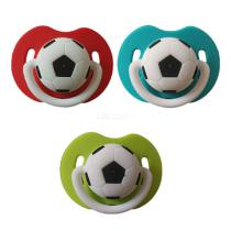 Little Baby Funny Football Silicone Pacifier For Newborn Infant