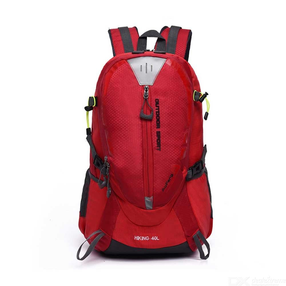 Unisex Outdoor Sport Backpack Large Capacity Water-Repellent Travelling Backpack For Camping Hiking Climbing Cycling