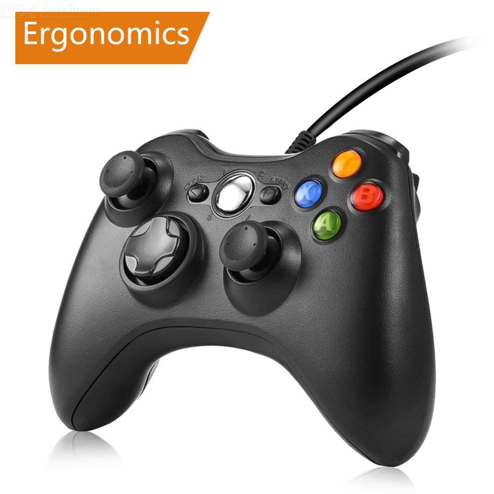 Game Controller USB Wired Gamepad For Microsoft Xbox 360 Console Windows PC Laptop Computer
