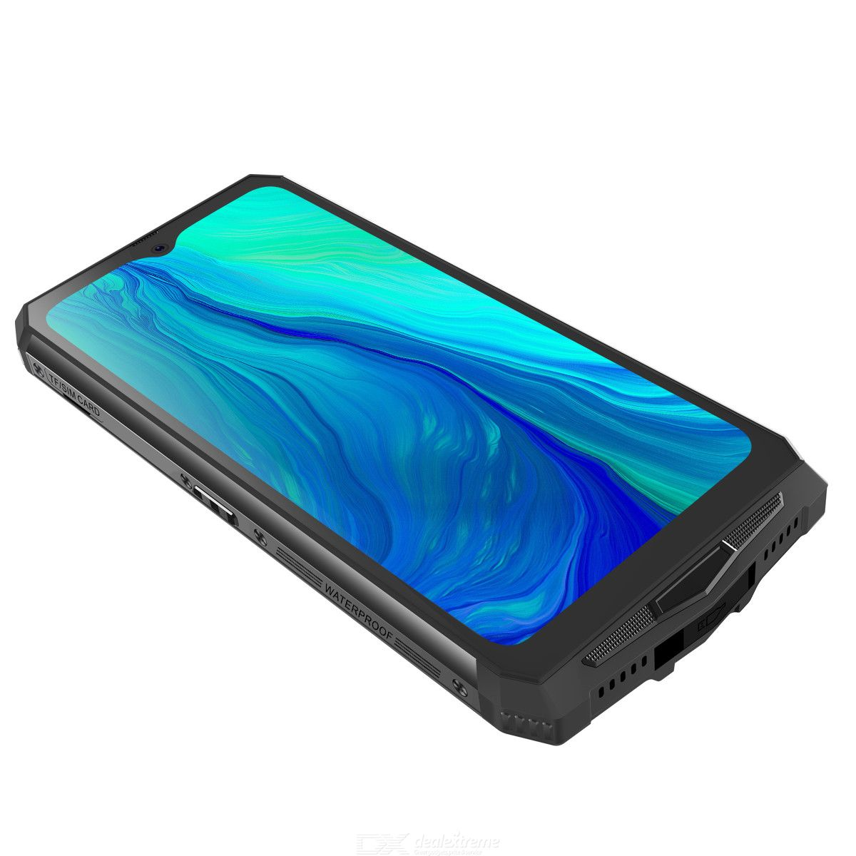 Global Blackview BV9100 16000mAh 60d Standby time Android 9.0 6.3 inch 4GB 64GB Rugged Phone P35 2.3GHz 8core 16MP 3 Cam EU Plug