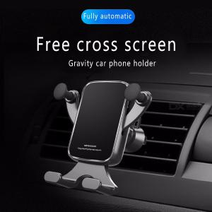 Universal Metal Car Air Vent Oulet Mount Gravity Phone Clip Clamp Holder Bracket Stand