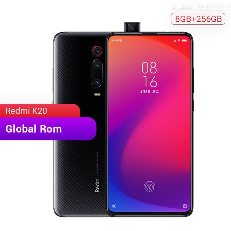 Original Xiaomi Redmi K20 Global ROM Octa-Core 6.39 Inch AMOLED Screen With 8GB RAM 256GB ROM, 48MP Cameras 4000mAh - US Plug