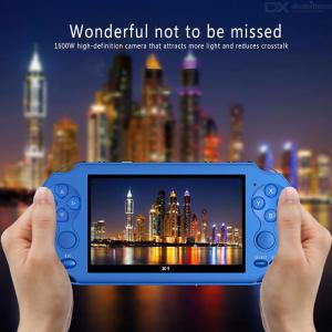 X1 Portable 4.3 Inch PSP Handheld Game Player Console With Double Joysticks For Children Adults