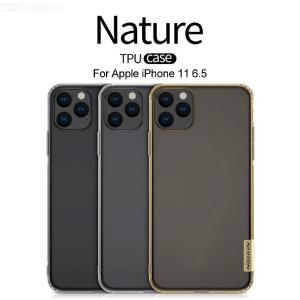 NILLKIN Ultra Thin Clear Transparent Soft TPU Protective Phone Case Back Cover For IPhone 11 Pro Max 6.5 Inch
