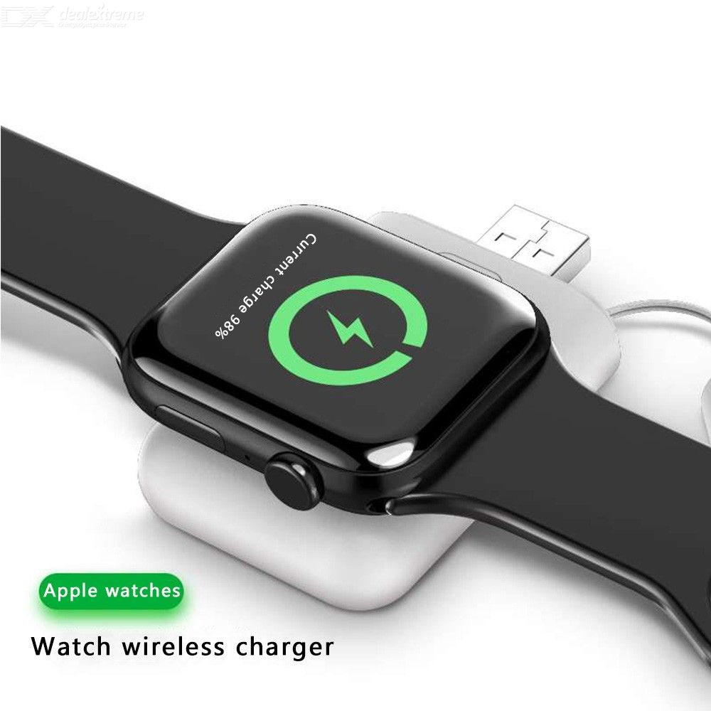 Mini Portable Strong Magnetic Adsorption Wireless Charger For Apple Watch
