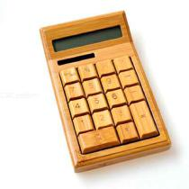 Smart-Bamboo-Calculator-Small-Natural-Wooden-Calculator