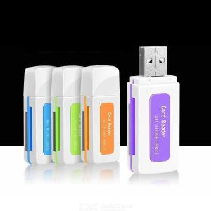 Emerald Can 4-in-1 Card Reader 4-in-1 Card Reader Multi-function Card Reader
