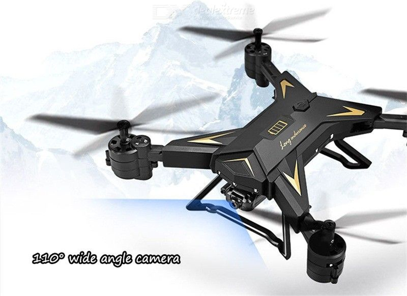 Cross-border Long-life Folding Folding Aerial Drone Fixed-high Four-axis Aircraft WIFI Map Transmission Remote Control A