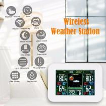 17-Inch-Large-Wireless-Digital-Weather-Station-Clock-With-Temp-And-Humidity-Detect