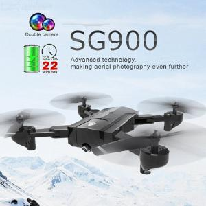 SG900 Folding Drone Gesture Long Endurance Optical Flow Remote Control Aircraft Dual Camera Aerial Four-axis Aircraft
