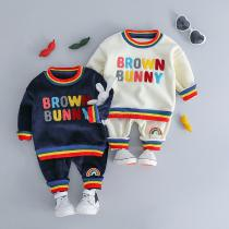 Fashion-Winter-Childrens-Clothing-Set-Double-Sided-Plus-Velvet-Warm-Boys-Clothes-Letter-Embroidery-Long-sleeved-Girl-C