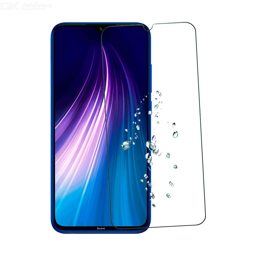 Naxtop 2.5D Tempered Glass Screen Protector Protective Front Film For Xiaomi Redmi Note 8
