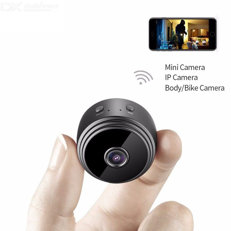 Micro WIFI Mini Camera HD 720P With Smartphone App And Night Vision IP Home Security Video Cam Bike Body DV DVR Magnetic