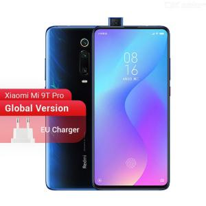 Global Version Original Xiaomi Mi 9T Pro (Redmi K20 Pro) Smartphone With 6GB RAM + 64GB128GB ROM, 4000mAh Battery NFC - EU Plug