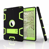 Stylish-Tablet-Case-Two-Tone-Patchwork-Protective-Cover-For-97-Inch-IPad-2017-2018