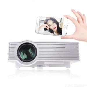 Projector Small Home With USB Interface Can Connect Computer HD 1080P Home Theater Mobile Phone Projector 800 Lumens