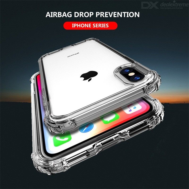 Luxury Shockproof Phone Case For IPhone 678plus Ultra Thin Soft TPU Case For IPhone X Clear Protection Back Cover Case