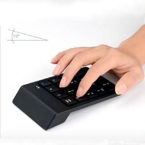 Bluetooth 3.0 Numeric Digital Keyboard Keypad Wireless Keyboard Number Pad 18 Keys Mini Keyboards For Laptop Tablet Smar