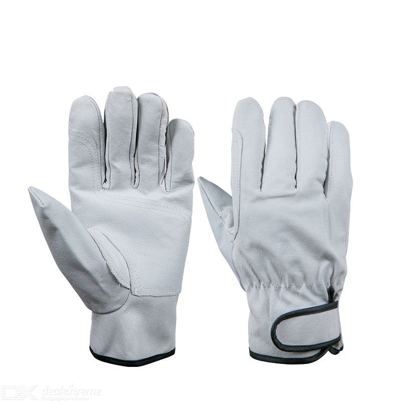 Free Shipping Hot Sale D Grade Ultrathin Pigskin Safety Work Gloves Wholesale