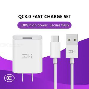 ZMI Xiaomi QC3.0 Charger For MIX3MIX2s Millet 88se66x55s Max2Max3 Fast Charge Huawei Samsung Android Universal P