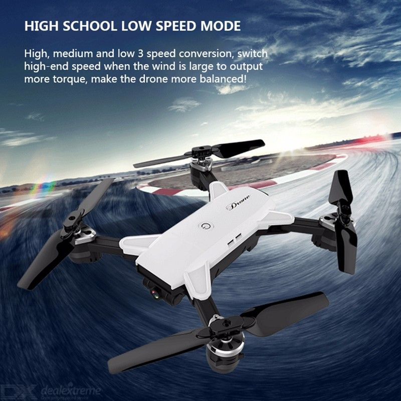 YH-19 Four-axis Folding Aircraft Fixed Height WIFI Aerial High-definition Wide-angle XS809 Real-time Transmission Remote