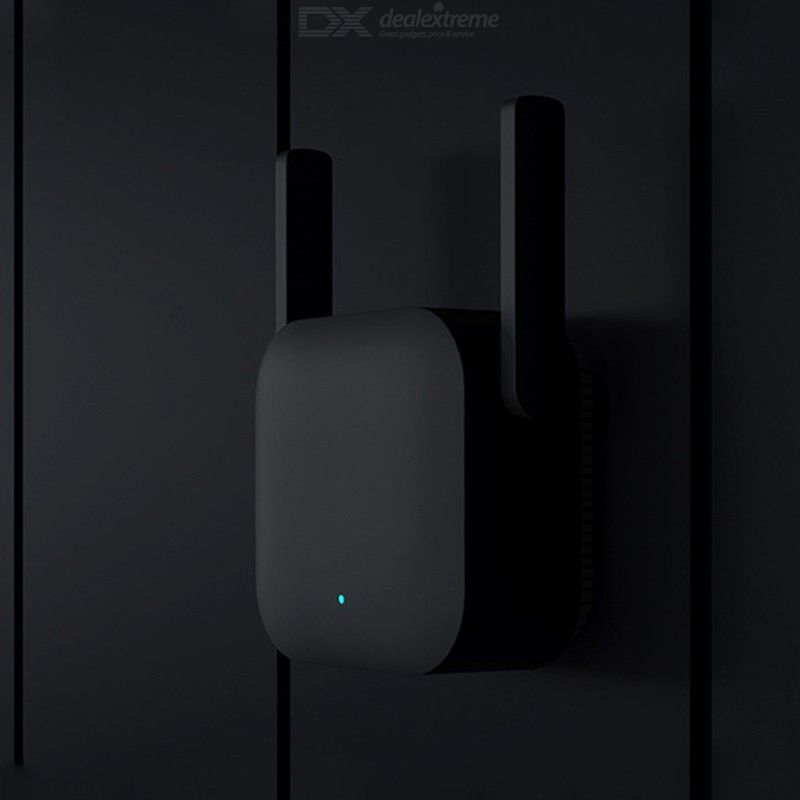 Dx coupon: Xiaomi WiFi Amplifier Pro 300Mbps Wi-Fi Repeater Wifi Signal Cover Extender Repeater 2.4G Mi Wireless Black Router