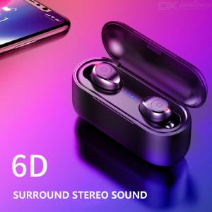 5.0 Version Of The Wireless Bluetooth Headset Binaural Mini Invisible Pair Of Driving Into The Earbuds Sports Headphones
