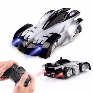 9920L RC Cars Remote Control Wall Climbing Car With 360-Degree Rotating Stunt LED Lights