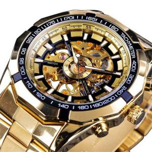 Fashionable Male Luminous Mechanical Wristwatch Multifunctional Waterproof Sports Watch