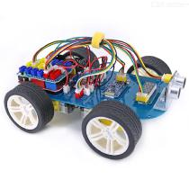 OPEN-SMART-4WD-Serial-Bluetooth-Control-Gear-Motor-Smart-Car-Kit-Easy-Plug-Colorful-XH-254mm-Socket-for-Arduino-UNO-R3
