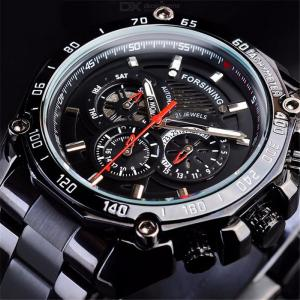 Fashion Male Mechanical Wristwatch Multifunctional Waterproof Business Watch