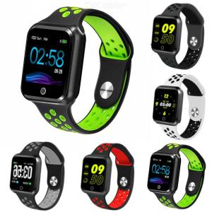 S226 Smart Bracelet 1.3 Inch Smart Watch With Heart Rate Blood Pressure Monitor IP67 Water Resistance
