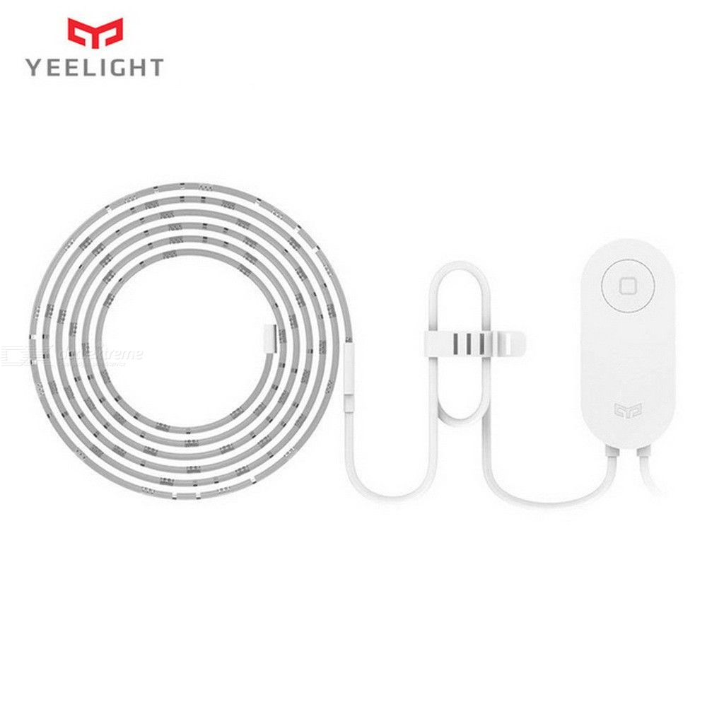 Original Xiaomi Yeelight RGB Wi-Fi LED 2M Smart Light Strip For Mi Home APP, Works With Alexa Google Home Assistant