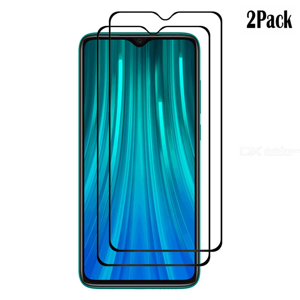Naxtop 2.5D Tempered Glass Screen Protector Protective Front Film For Xiaomi Redmi Note 8 Pro